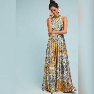 Nicole Miller Paisley Maxi Dress